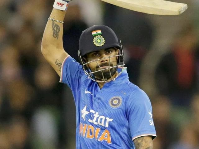 Virat Kohli has hit only 27 sixes in 33 T20 Internationals compared to a whopping 127 boundaries.