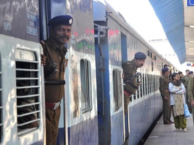 The special Train from Chandigarh to Delhi on Monday.