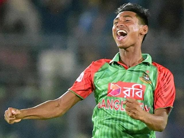 Mustafizur Rahman made an impressive debut in last year's 2-1 ODI series win over India at home.