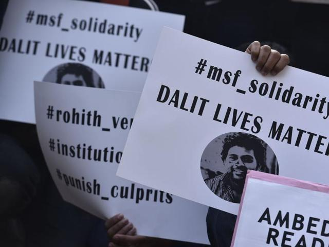 Rohith Vemula suicide