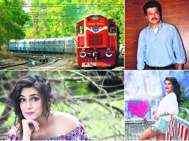 Bollywood actors reminisce about their most memorable train journeys.