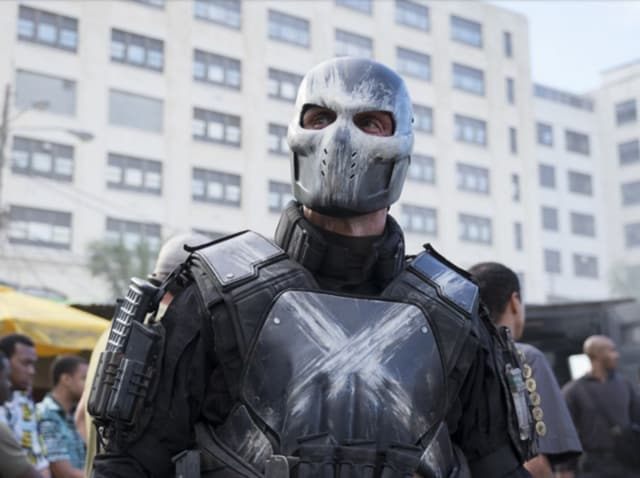 Crossbones is the superhero incarnation of Brock Rumlow, one of the rogue S.H.I.E.L.D. operatives on the take for H.Y.D.R.A. in Captain America: The Winter Soldier.