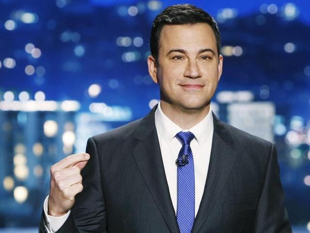 Kimmel's first and only time hosting the Emmys was in 2012.