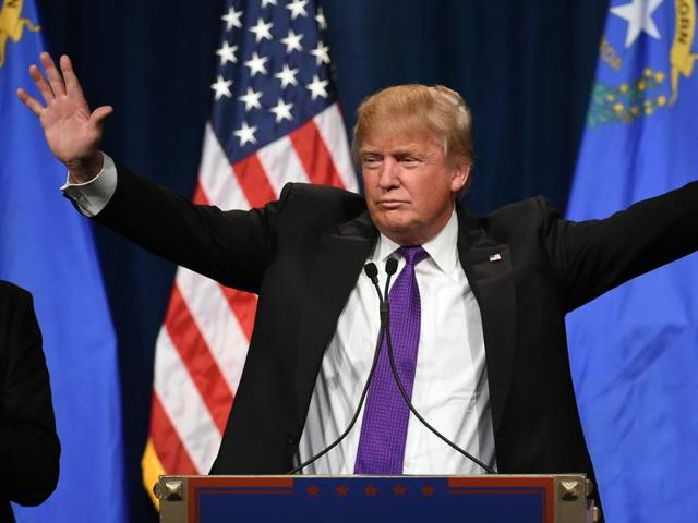 """""""We're winning, winning, winning the country,"""" Trump declared. """"Soon, the country is going to start winning, winning, winning."""""""
