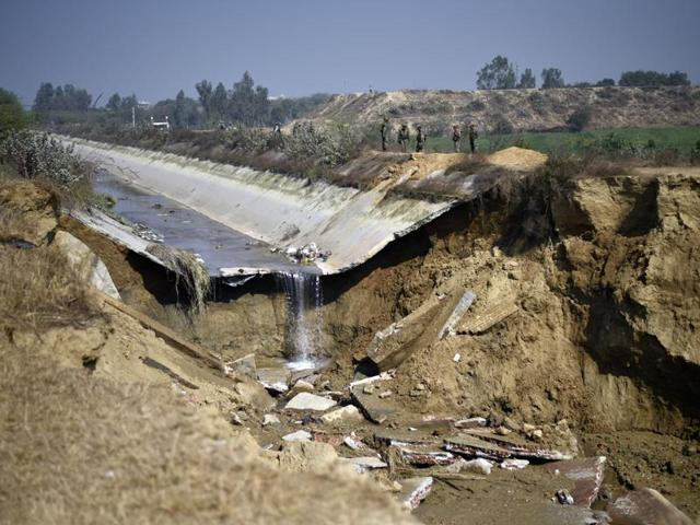 Army has been deployed to guard the Munak canal that has been damaged in stretches during the violent Jat stir.