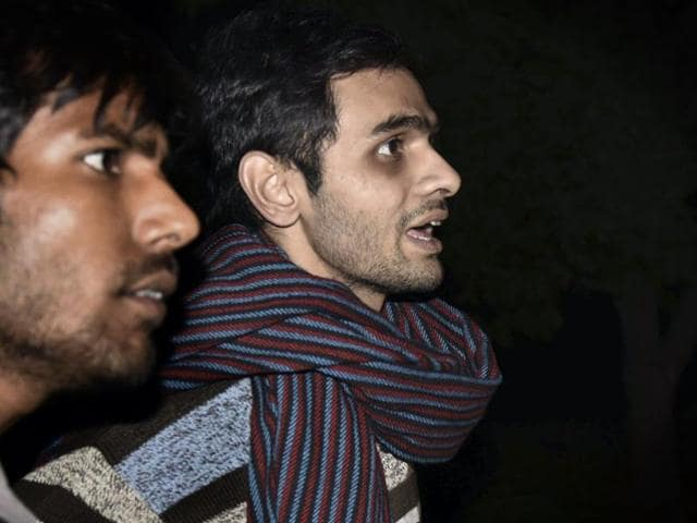 The Delhi Police interrogated Jawaharlal Nehru University students Umar Khalid and Anirban Bhattacharya, who have been booked on charges of sedition, in the wee hours on Wednesday and asked them about the sequence of events that took place on February 9.