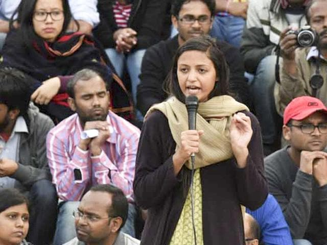"""""""Friends, this is to inform you that comrade Umar and comrade Anirban have surrendered. However, they have placed their faith in the law and we hope that they will be released soon. We also hope that comrade Kanhaiya gets bail tomorrow,"""" said JNUSU vice-president Shehla Rashid in a statement."""