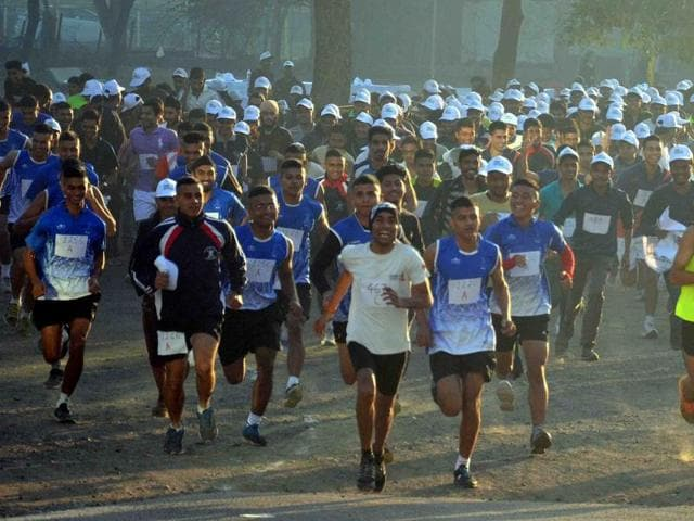 Indore's first half marathon was organised in 2015.