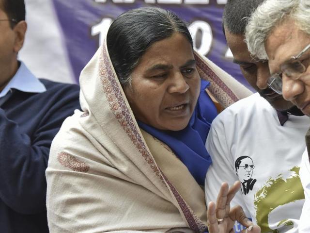 Rohith Vemula's mother Radhika Vemula