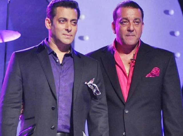 Salman Khan will reportedly celebrate Sanjay Dutt's release from jail with a private bash at his Panvel farmhouse.