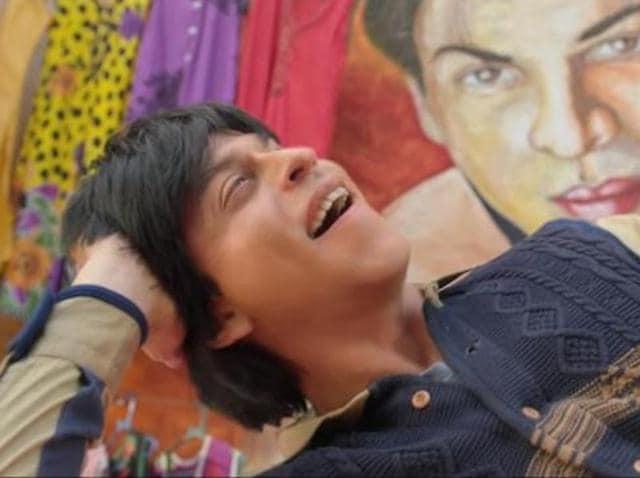 SRK in a still from Jabra Fan.