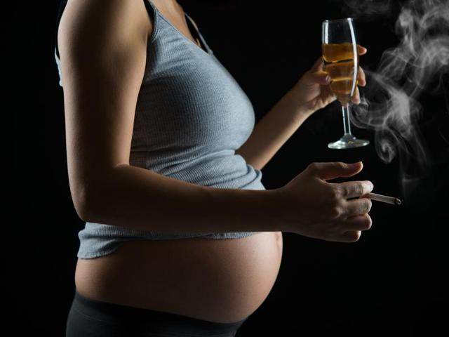 The studies suggest that if a mother drinks during pregnancy, even just a little bit, she increases the risk that her progeny will become alcoholic.