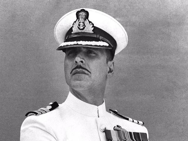 The 48-year-old actor took to his Twitter handle and posted a picture of himself wherein he looks stunning as a Naval officer.(Twitter)