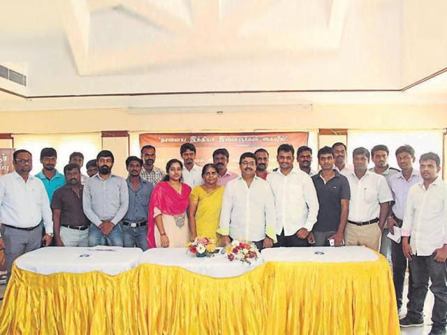 More than 50 NGOs have joined hands to form the Puthiya Sakthi Front in poll-bound Tamil Nadu.