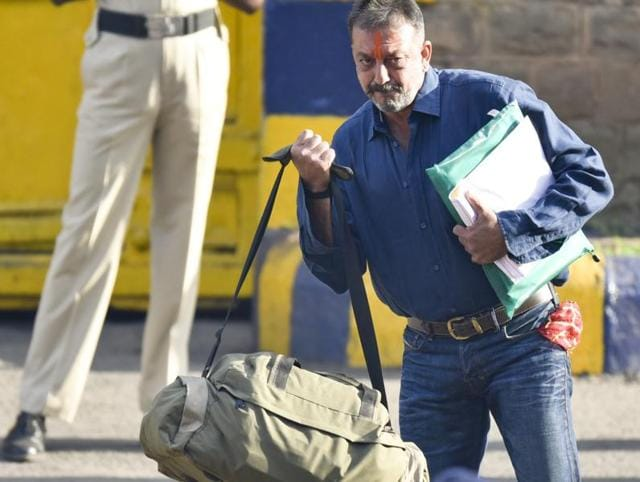 Bollywood actor Sanjay Dutt was released from Pune's Yerwada jail on Thursday morning. He is back in Mumbai after spending 42 months behind bars following his conviction in the 1993 Mumbai serial blasts case.