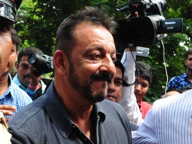 Sanjay Dutt was released from Yerwada jail in Pune at 8:40 am. Dutt finished his sentence of 42 months.