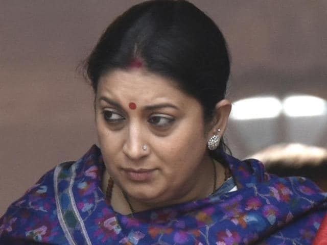 In a hard-hitting reply, laced with emotion and anger, HRD minister Smriti Irani defended the action against students of the Jawaharlal Nehru University, saying students' union president Kanhaiya Kumar and others had been found indulging in anti-national activities by the varsity authorities.