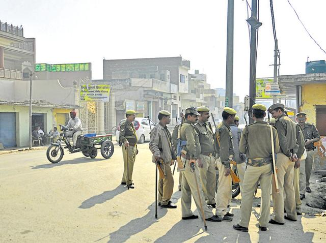As the news spread, police deployed a large posse of personnel in Murad Nagar, a communally sensitive area, on Wednesday.