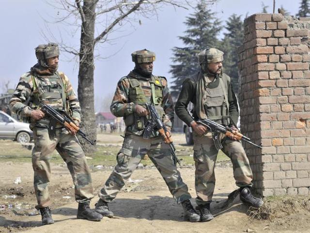Pampore encounter,Militancy in Jammu and Kashmir,Captain Pawan Kumar