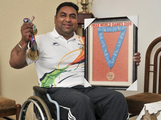 Two years ago, the PCI didn't allow Parminder to compete in the qualifying event for the Para Incheon Asian Games in Tunisia unless he paid R1.5 lakh.
