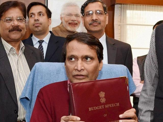 Railway budget,Rail budget,Suresh Prabhu