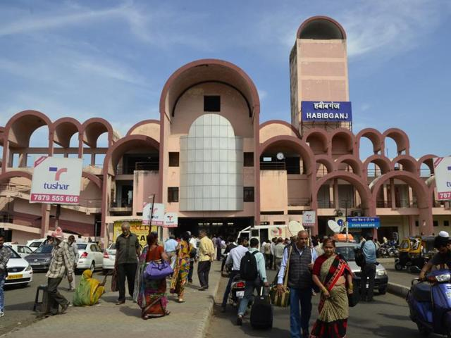 Habibganj is the only railway station of Madhya Pradesh to be selected for development as world-class station.