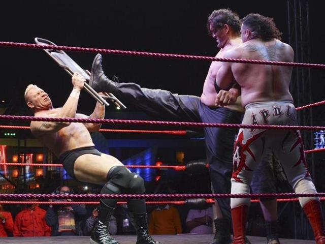 'The Great Khali', was discharged from the hospital on Friday.