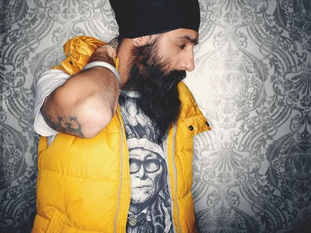 Humble the Poet, a turbaned rapper from Canada hits out against homophobic racism through his songs. Catch him perform live this weekend