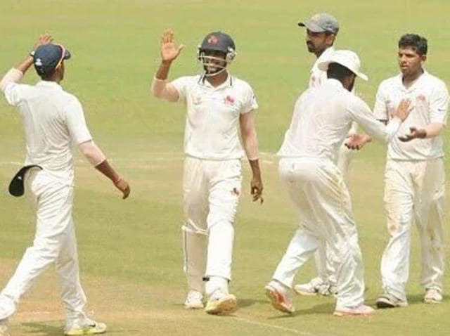 Mumbai clinched their 41st Ranji Trophy title by defeating Saurashtra by an innings and 21 runs in the final.