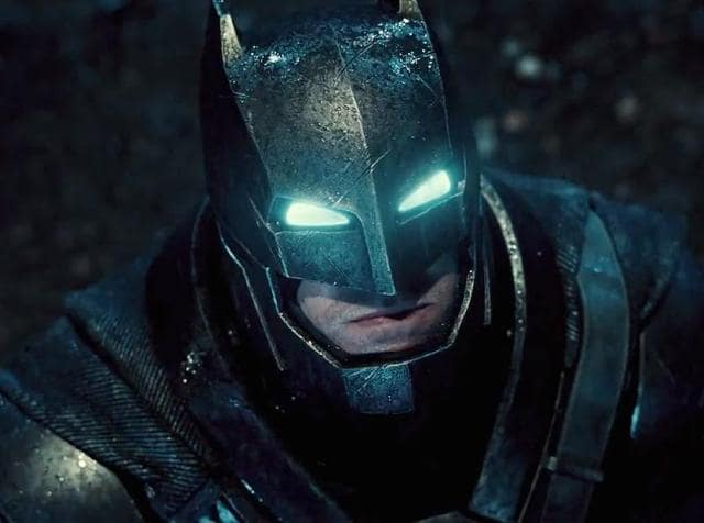 Ben Affleck in Batman v Superman.