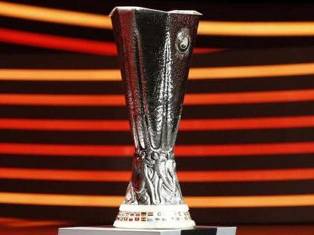 Manchester United and Liverpool were drawn together in the Europa League last 16 in Nyon on Friday.