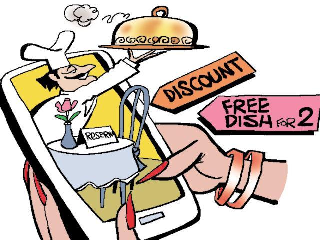 Restaurant reservation apps