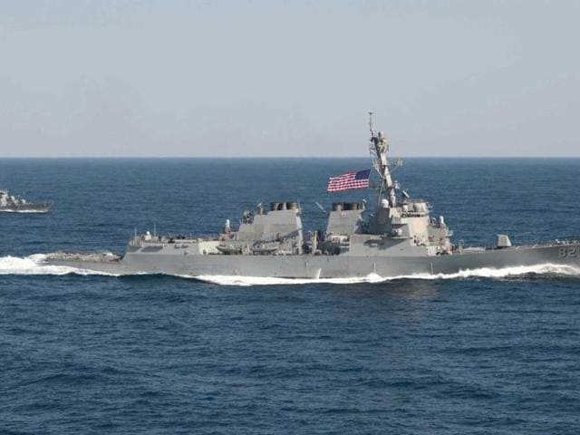 The USS Lassen guided missile destroyer that recently patrolled the South China Sea.