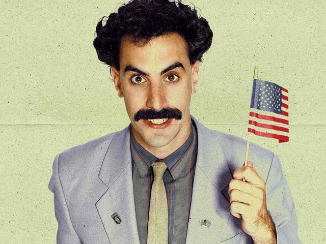 The FBI was interested in Borat.