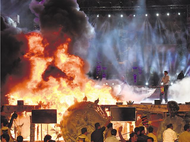 Mumbai Police spokesperson Dhananjay Kulkarni confirmed the filing of FIR against event management firm Wizcraft International Entertainment saying senior police inspector Pandurang Shinde at DB Marg police station filed the complaint on behalf of the state government.
