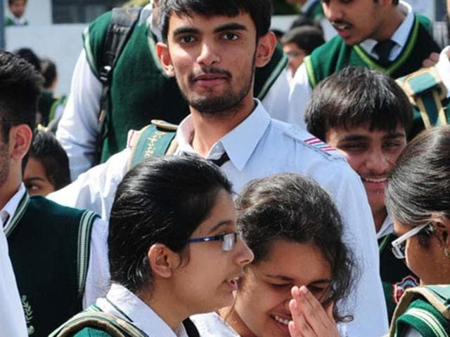 File photo of Class 12 students.