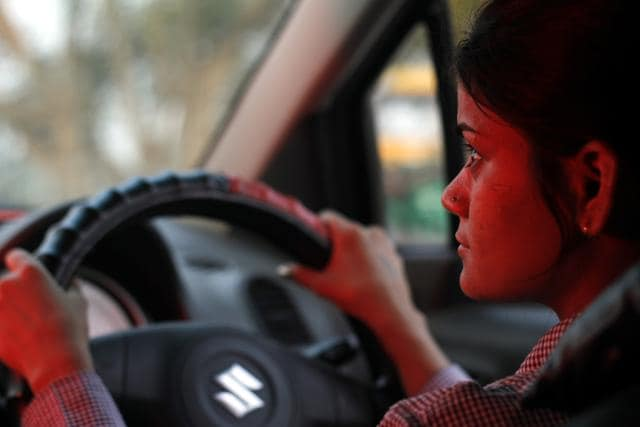 Besides driving, the women are given training in self-defence by women constables.