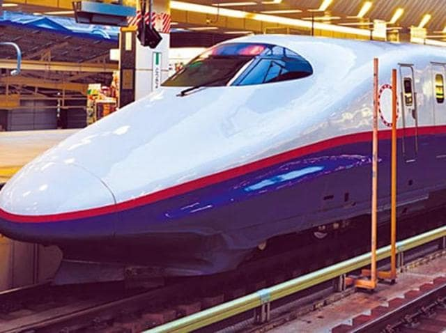 The NDA government's ambitious plan to run high speed bullet trains has formally taken off.