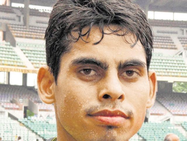 Ankit Sharma,long jumper,South Asian Game