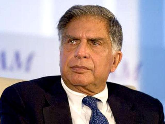 The others were driven into that room because Ratan Tata had accused them of lobbying to retain 5/20. His voice today is perhaps more powerful than anyone's in the Indian industry.  (HT File Photo)