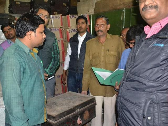 The articles, which were retrieved on Friday, will be sent for chemical treatment before being placed at the Ram Katha Sangrahalaya in Ayodhya.