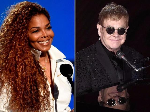 Elton John,Janet Jackson,Rolling Stones