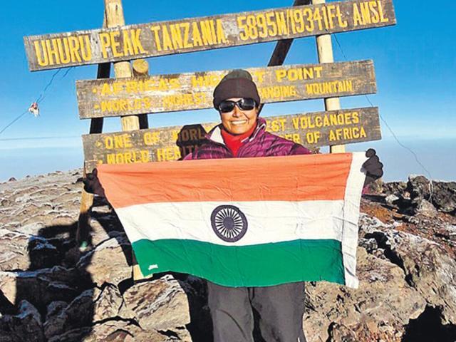 Mountaineer Toolika Rani,Mount Kilimanjaro,Lucknow