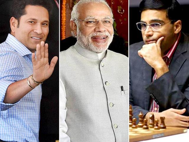 Tendulkar, Anand to join PM Modi in 'Mann ki Baat' today