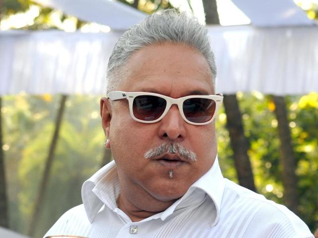 Vijay Mallya speaking at a Royal Challengers Bangalore press conference. The  terms of his contract termination means that the businessman no longer has control over RCB and Sahara Force.