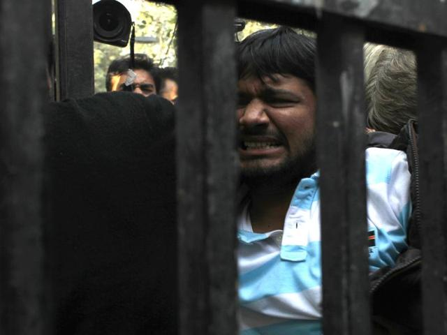 """None of the accused had to spend time in jail but in contrast, Kanhaiya Kumar, against whom police are yet to back their case with evidence, has already spent more than 10 days behind bars and has been labelled """"anti-national""""."""