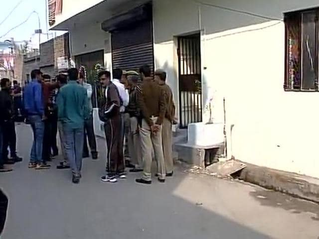 Two people were shot at by unidentified men at a toll plaza in Badarpur early on Sunday morning