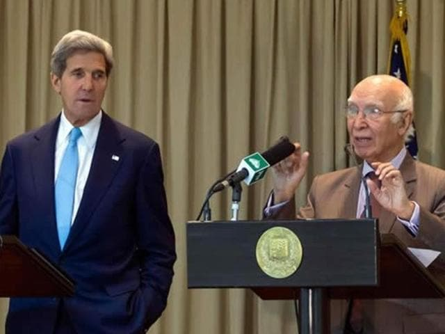 Adviser on foreign affairs, Sartaj Aziz, will lead the Pakistani delegation while secretary of state John Kerry will lead the US side for the sixth round of the strategic dialogue to be held in Washington.
