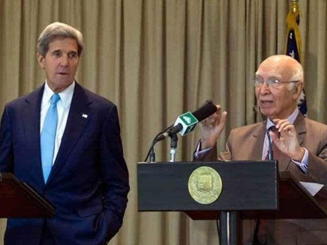 Pakistan-US talks
