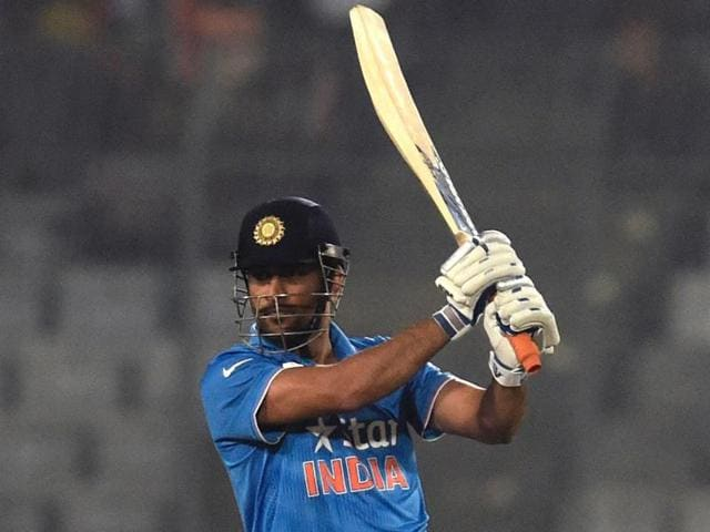 Dhoni also said that scores like 80's and 100's are not what people come to see in a T20 game.
